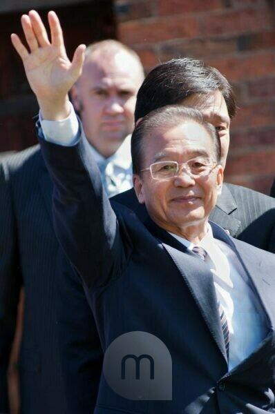 Chinese Prime Minister Wen Jiabao visiting UK 2011
