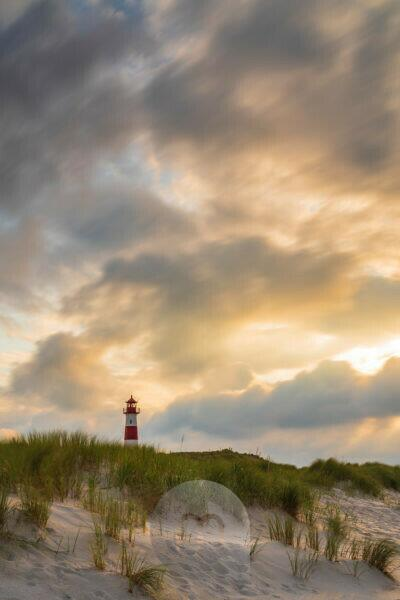Europe, Germany, Schleswig-Holstein, North Frisian island, Nordfriesland, North Sea, Sylt, Lighthouse List East