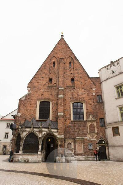 St. Barbara's Church, Old Town Krakow, Poland