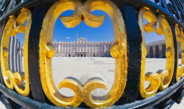 Royal Palace, Madrid, Spain, Europe