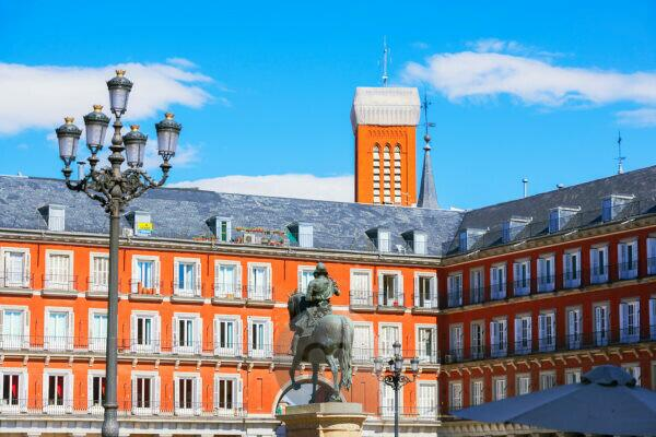 Mayor square, Madrid, Spain, Europe